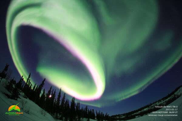 Auroramax, March 17, 2013, 00:09 MDT