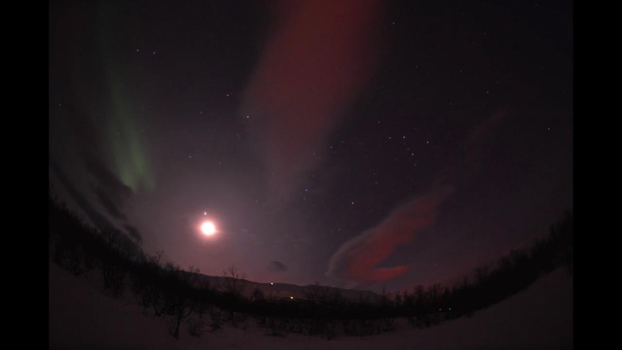 Aurora Over Abisko National Park, Sweden