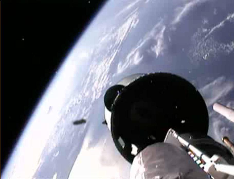 SBIRS Geo-2 Satellite Launch Stage Separation