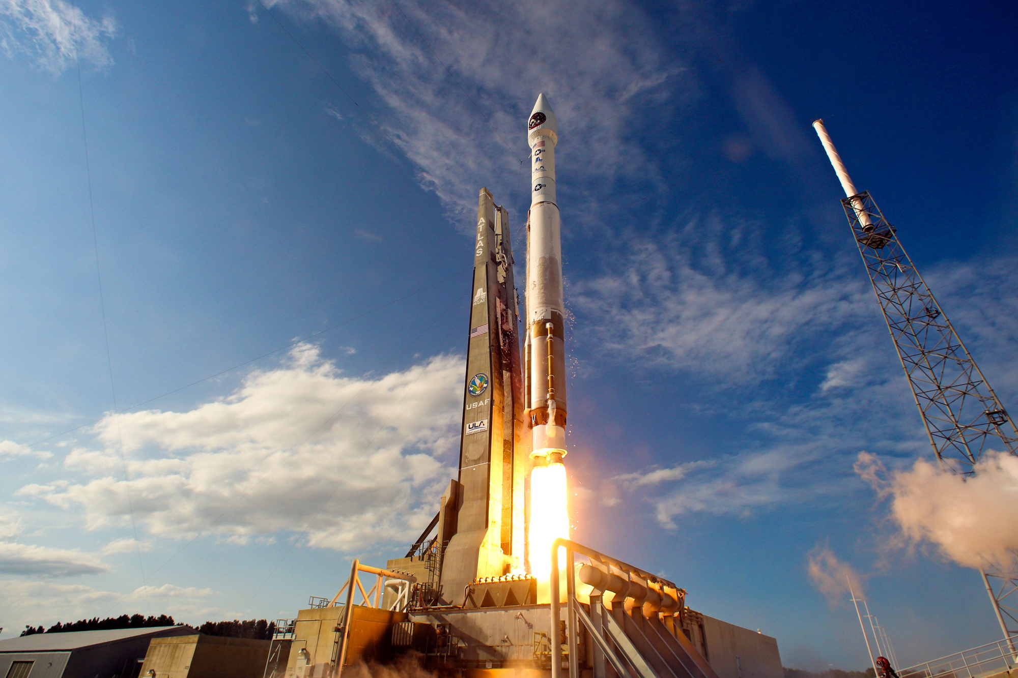 ULA Atlas 5 Rocket Launches SBIRS GEO-2 Satellite