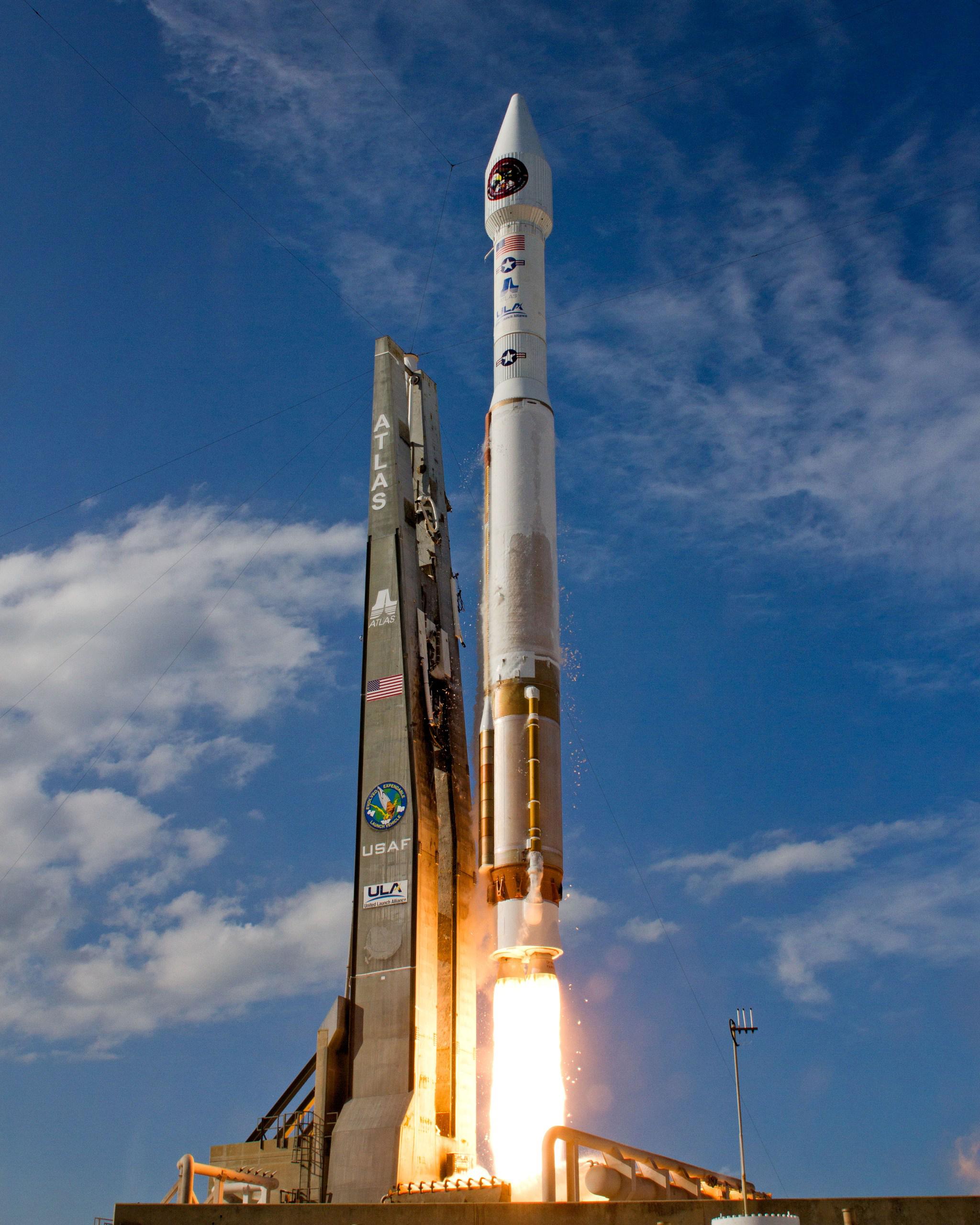 ULA Atlas 5 Rocket Launches SBIRS GEO-2 Satellite
