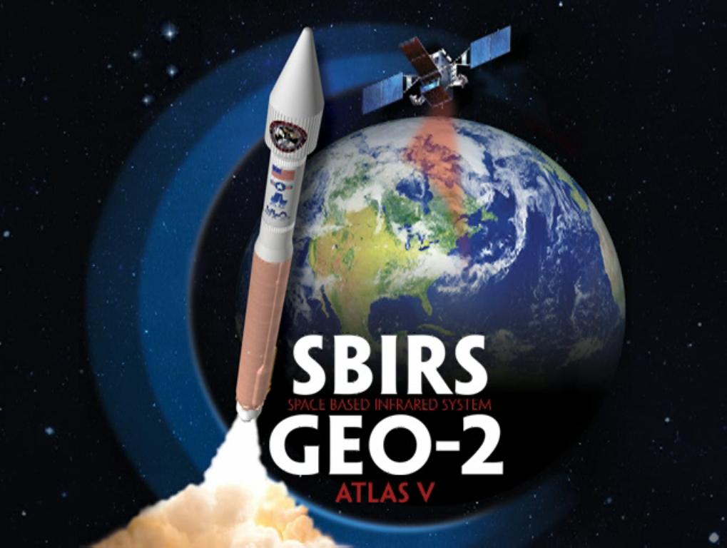SBIRS GEO-2 Atlas 5 Launch Poster