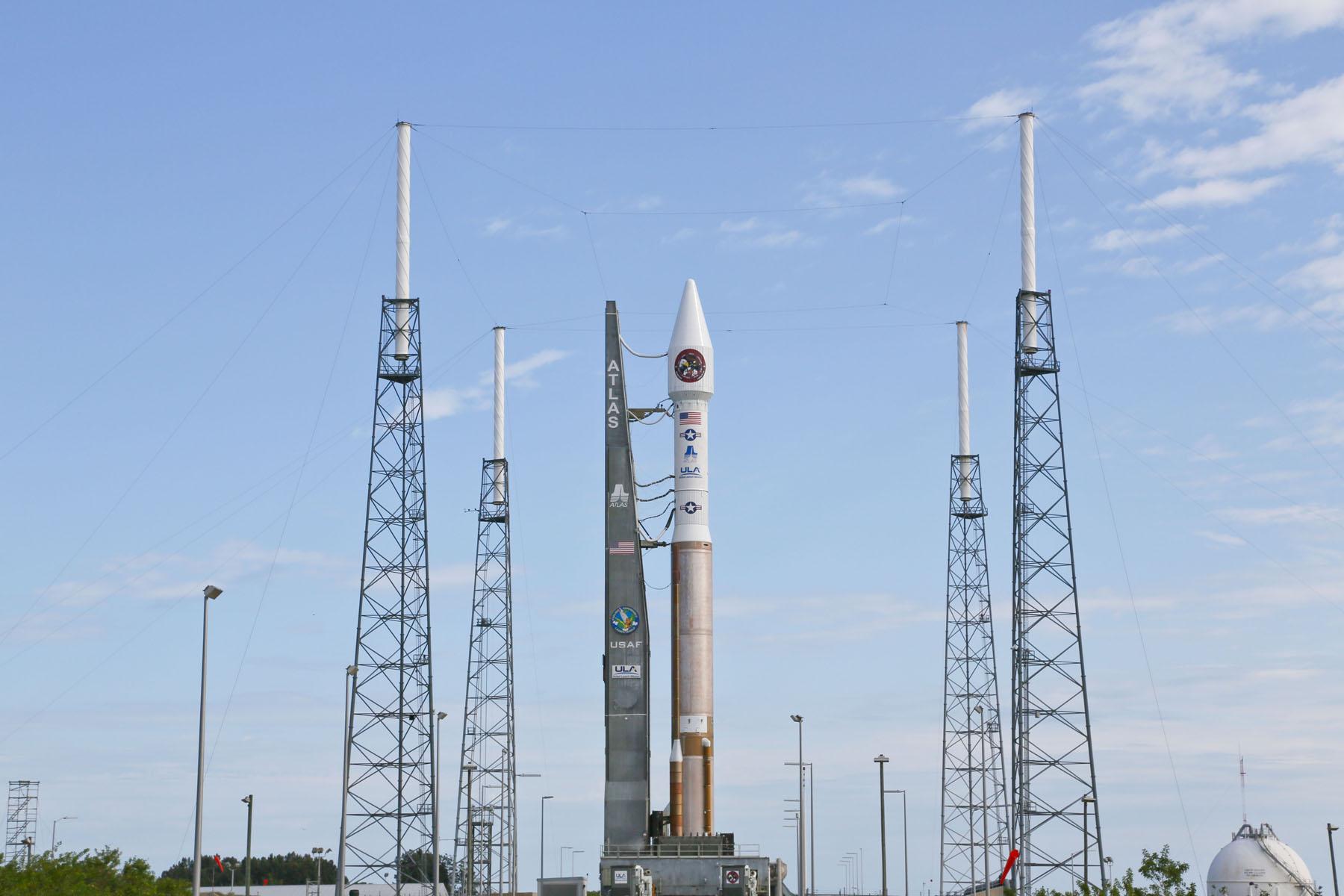 Atlas 5 Rocket Atop Launch Pad: SBIRS GEO-2