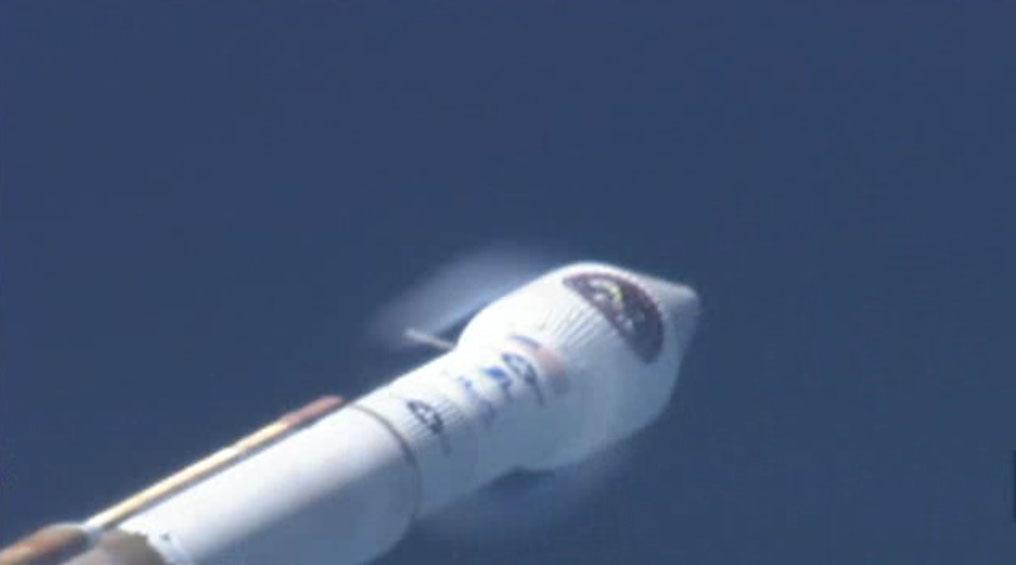 Atlas 5 Launches SBIRS GEO-2: Shockwave