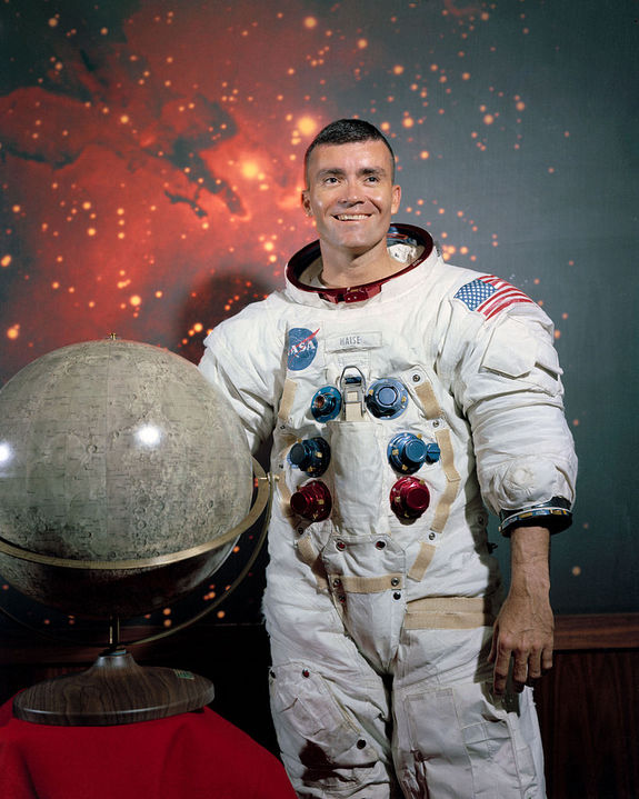 Fred Haise, Apollo 13 crewmember and one of the first space shuttle pilots.