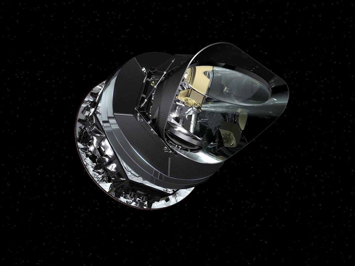 Planck Spacecraft Artist's Concept