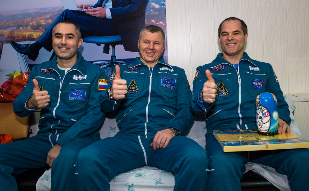 Expedition Crew Members Back on Earth