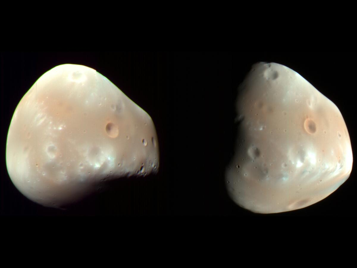 Deimos: Facts About the Smaller Martian Moon