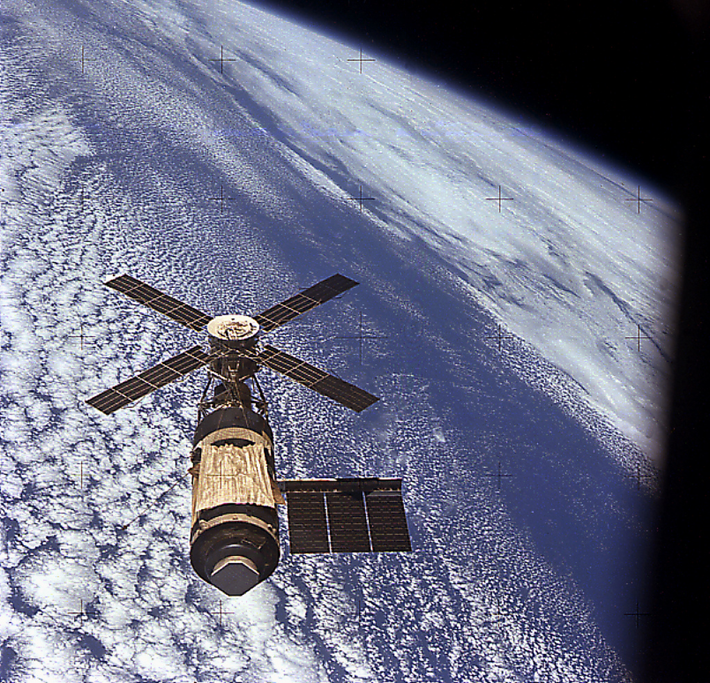 Skylab in Orbit 1973