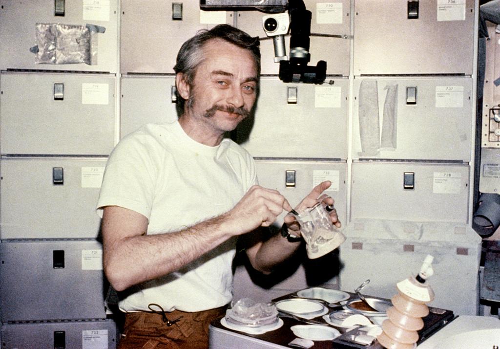 Dinner Aboard Skylab