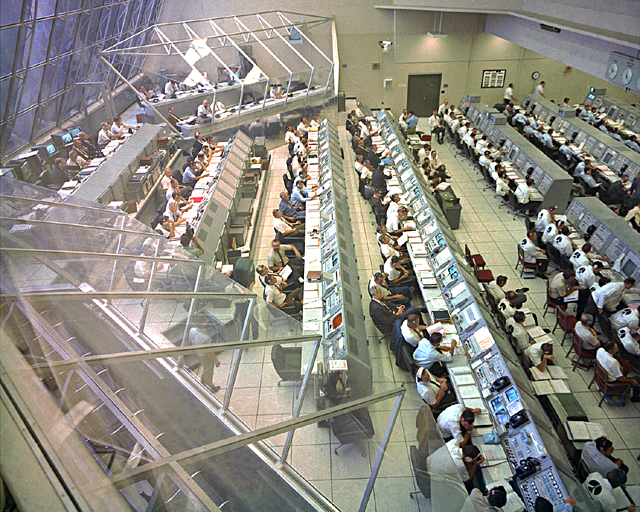 Space History Photo: Firing Room #2 During Apollo 12 CDDT