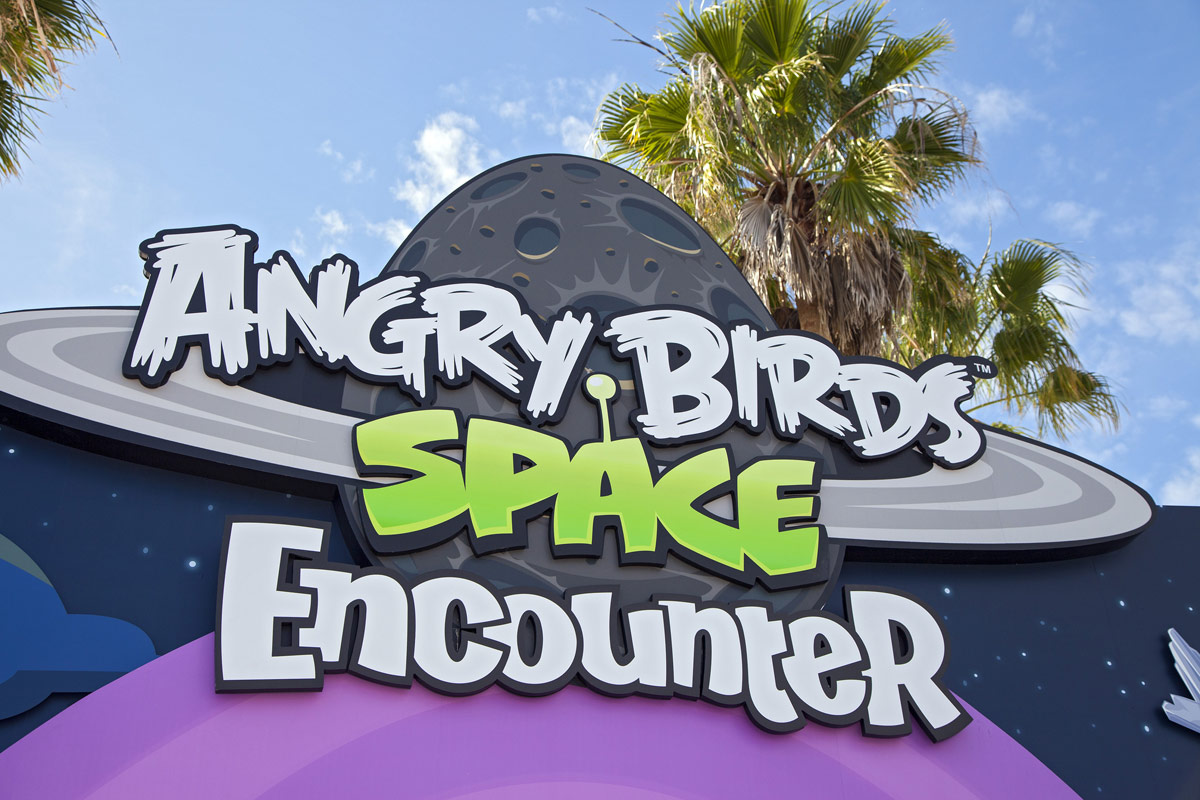 Angry Birds Space Encounter Opens at Kennedy Space Center