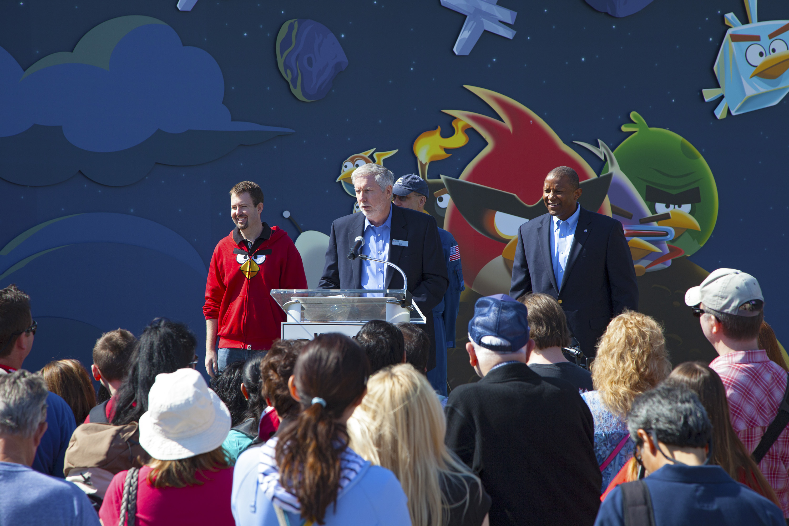 Angry Birds Space Exhibit Grand Opening Celebration