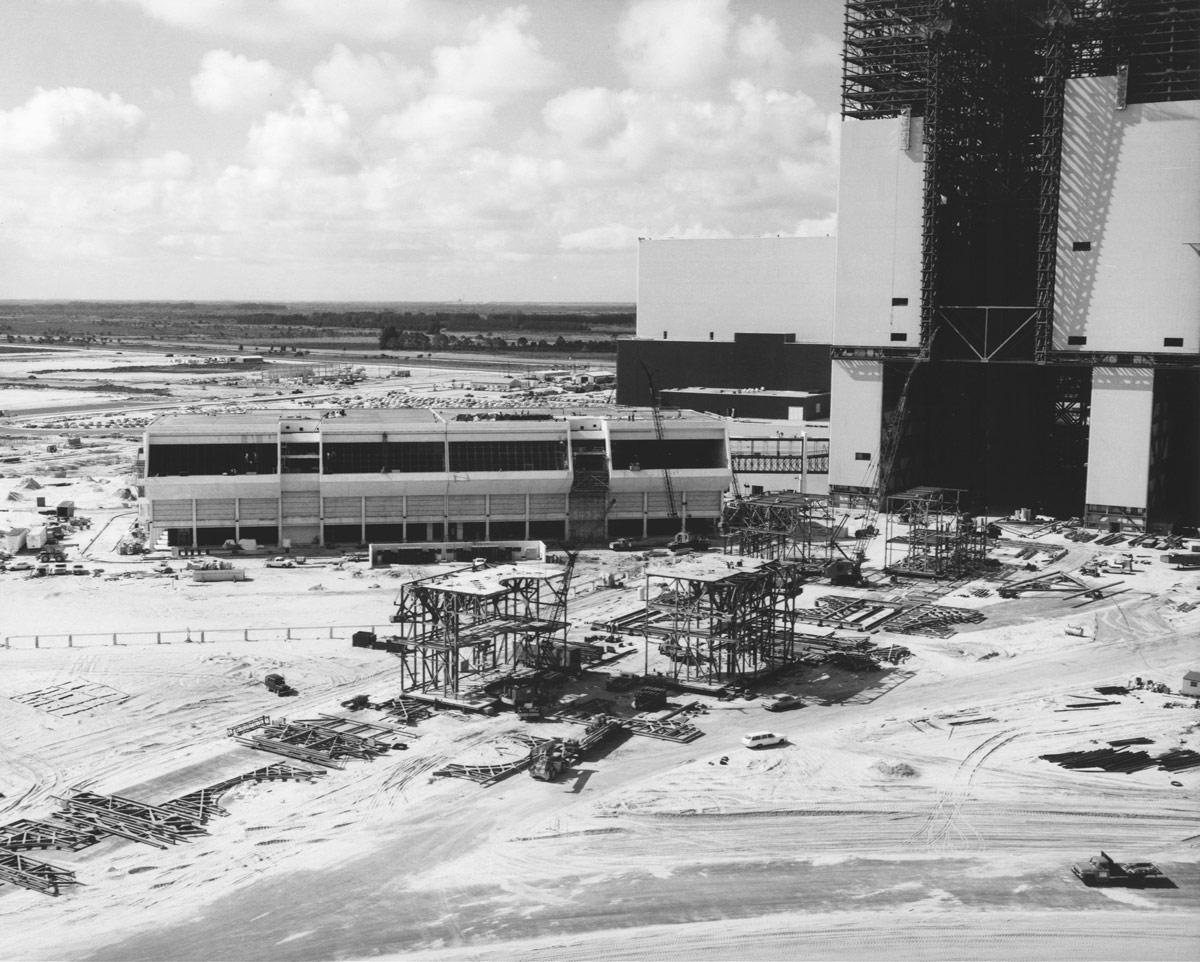 Launch Control Center Nears Completion in 1965