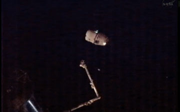 SpaceX Dragon Capsule Leaves Station: CRS-2
