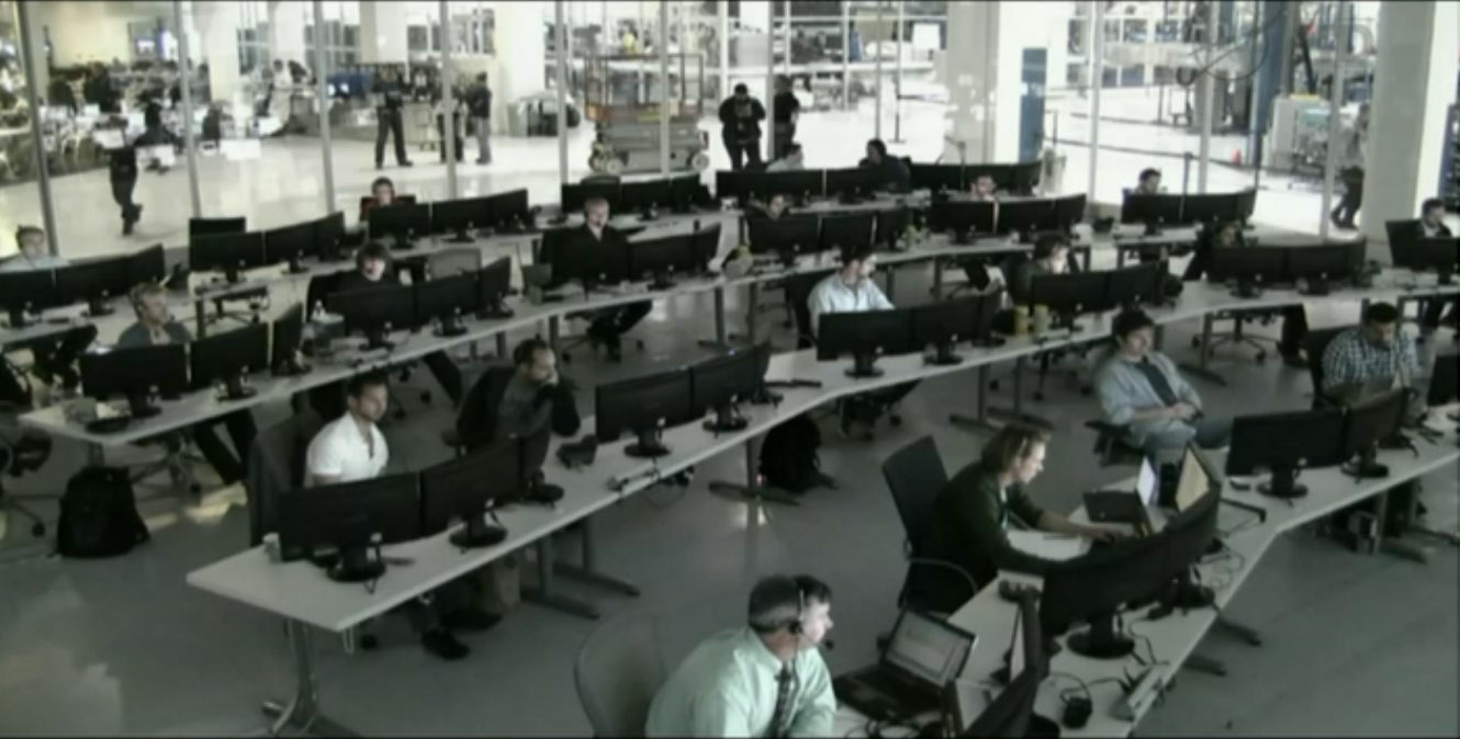 SpaceX Mission Control: CRS-2 Dragon Departure