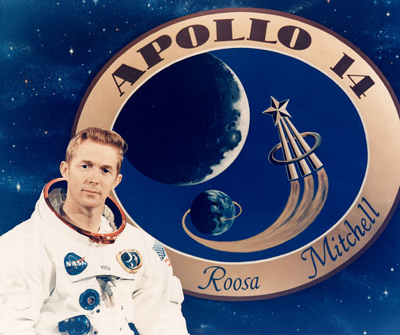 Stuart Roosa was the command module pilot on Apollo 14.