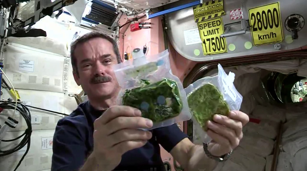 How to Cook Spinach in Space