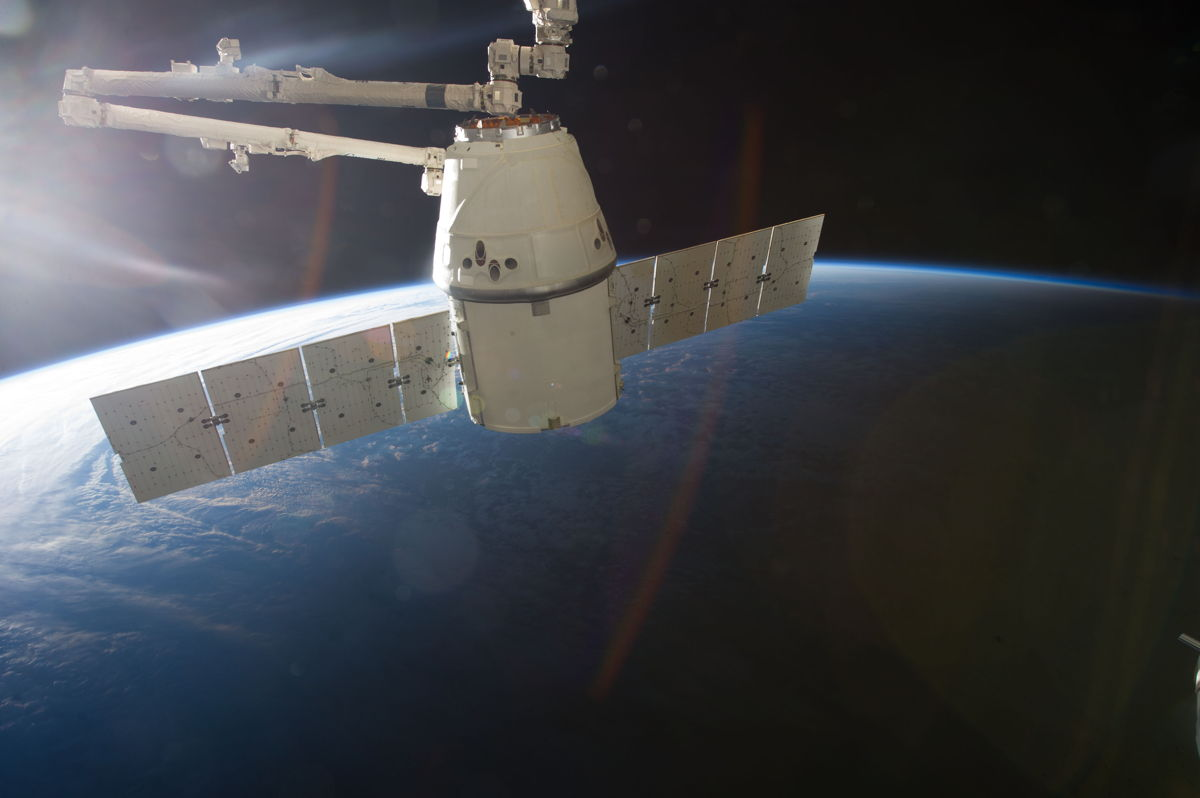 SpaceX Dragon Spacecraft at ISS #2