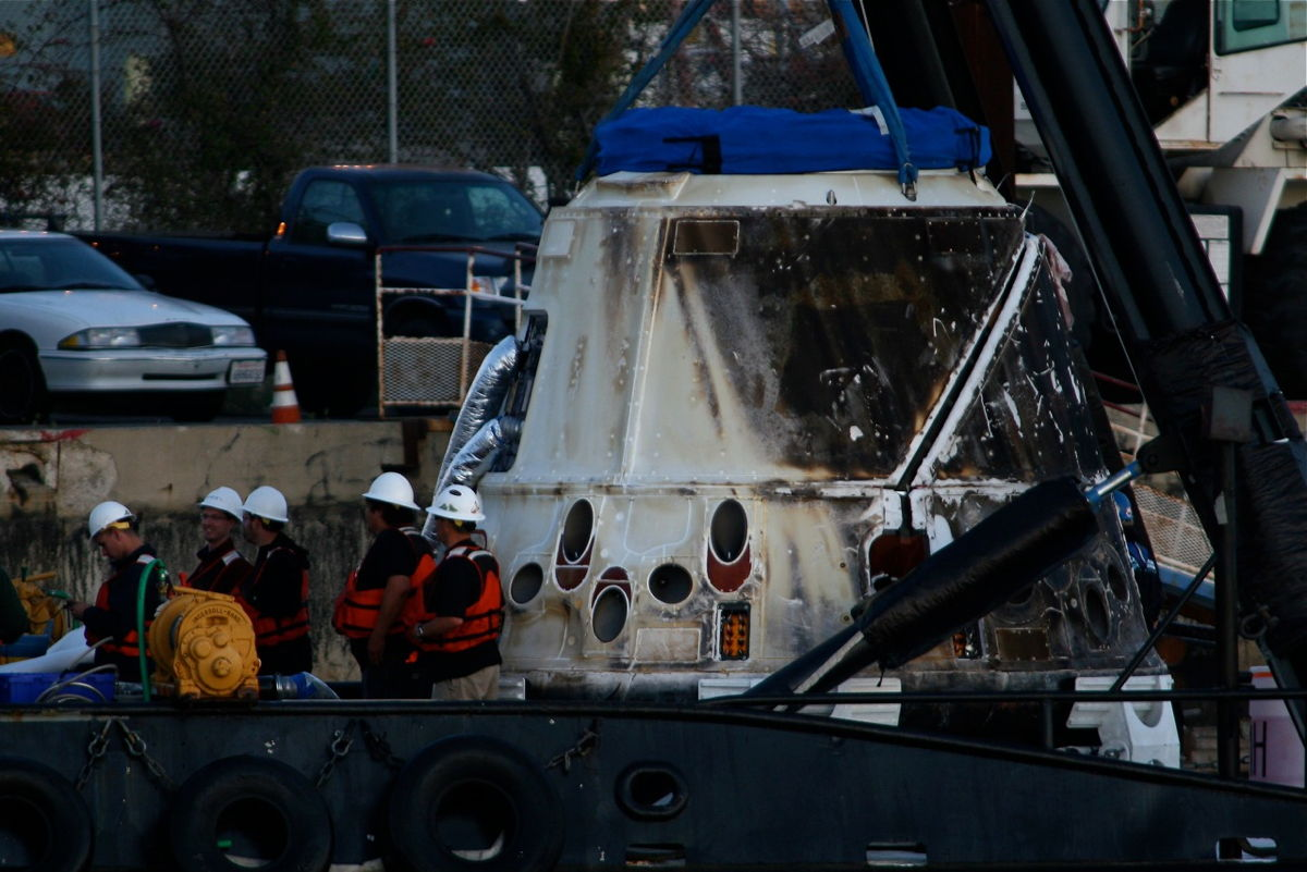 Dragon Capsule Recovered #2