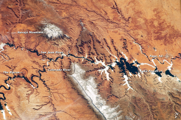 Grand Canyon View From Space Reveals Jaw-Dropping Scenery