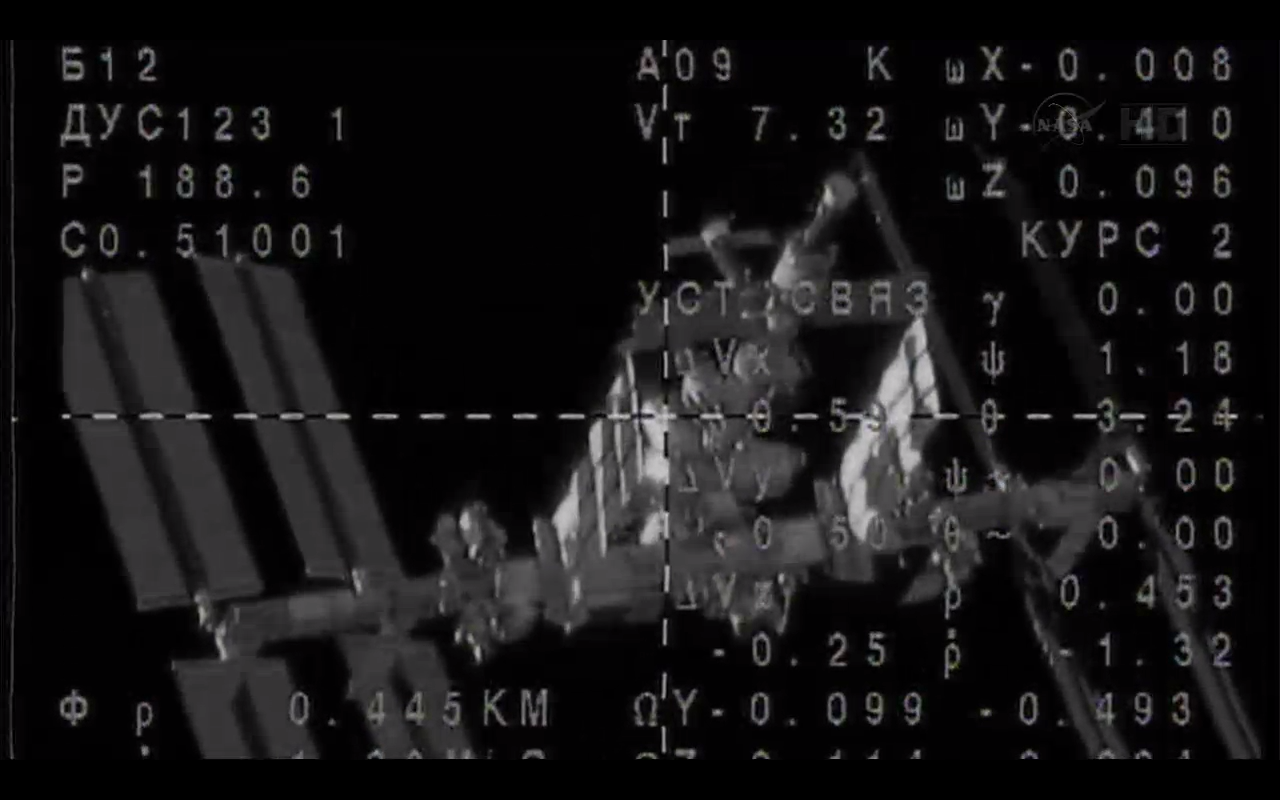Space Station from Soyuz