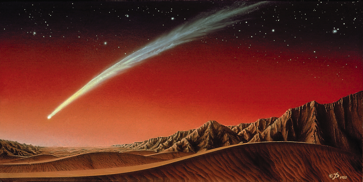 Could Upcoming Comet Flybys Damage Mars Spacecraft?