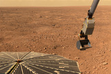 NASA's Phoenix Mars Lander detected perchlorates, a class of salts, in the Martian arctic's ice-rich soil in 2008.