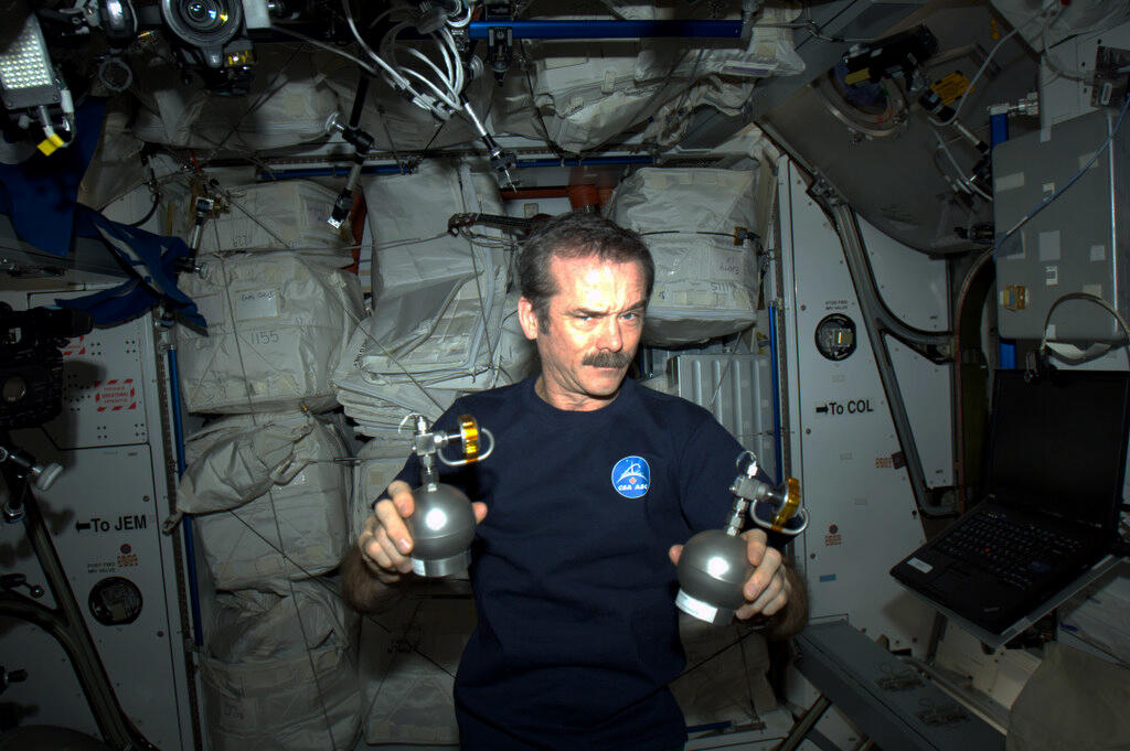 Chris Hadfield April Fools' Day