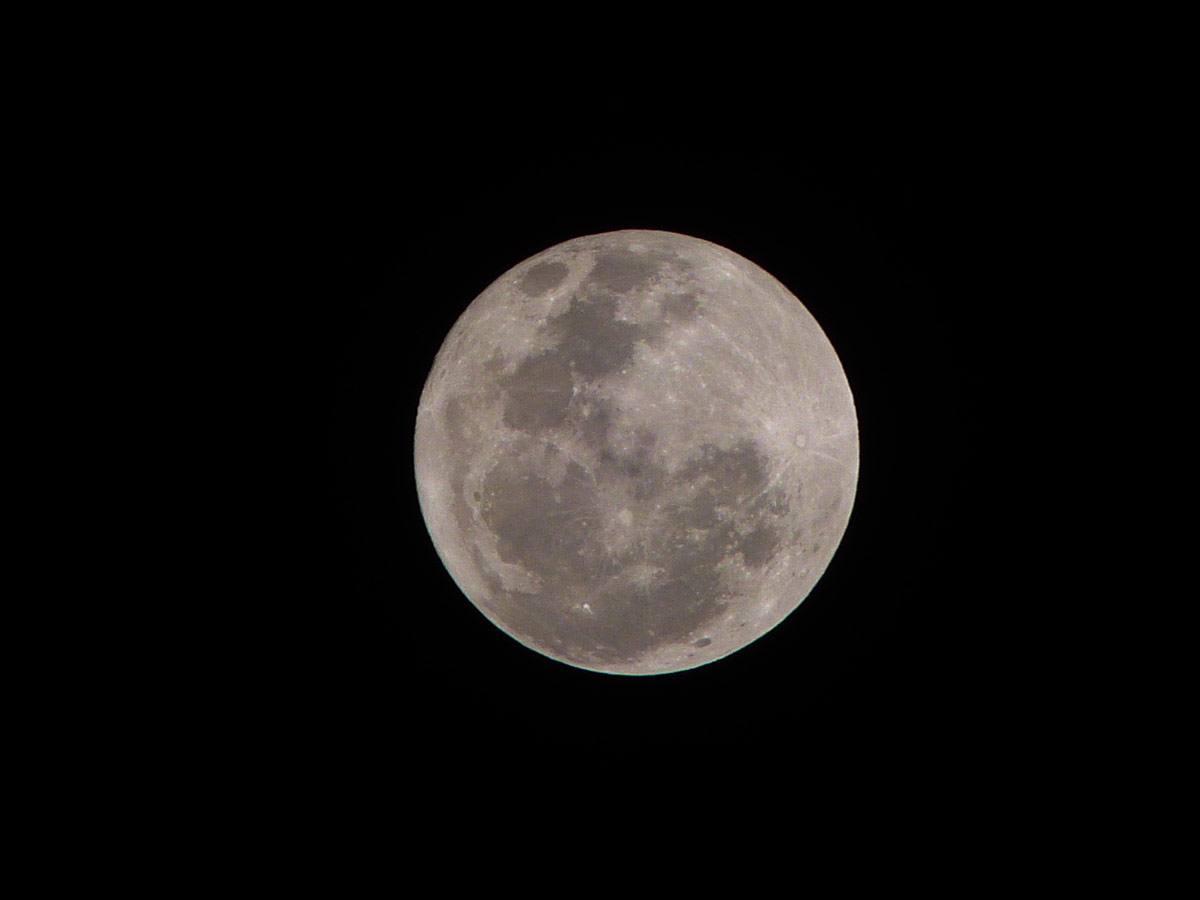 March 2013 Full Moon Over Phillipines
