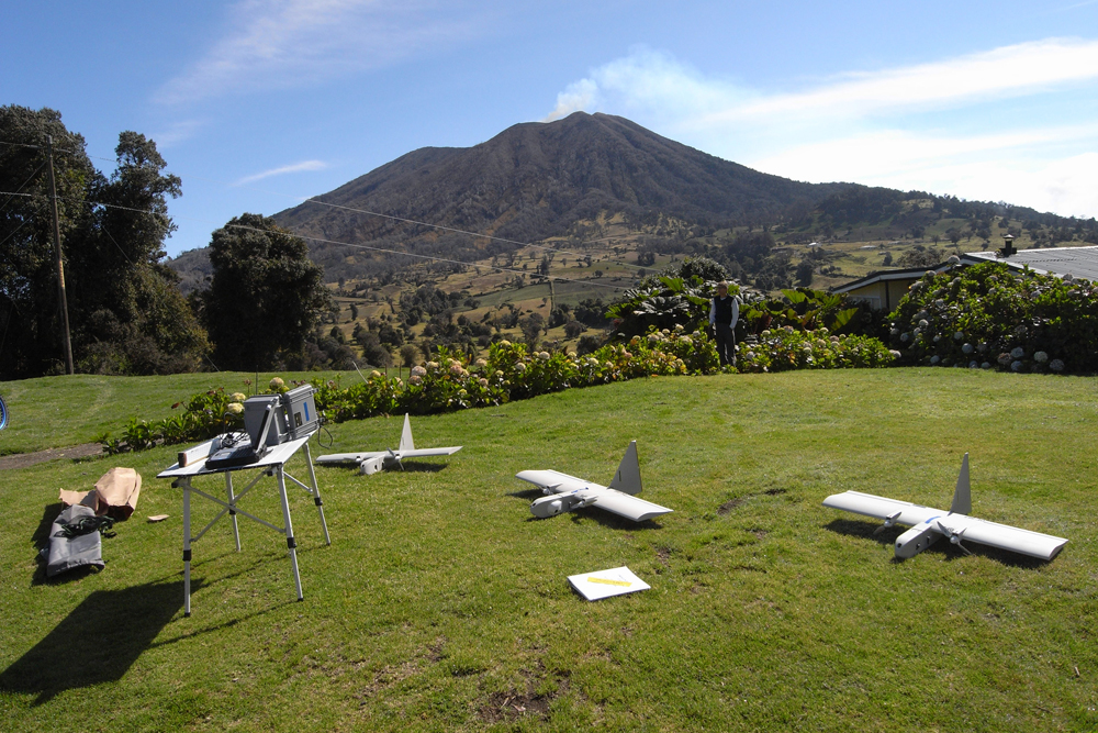 Unmanned NASA Planes Fly Through Poisonous Volcanic Fumes