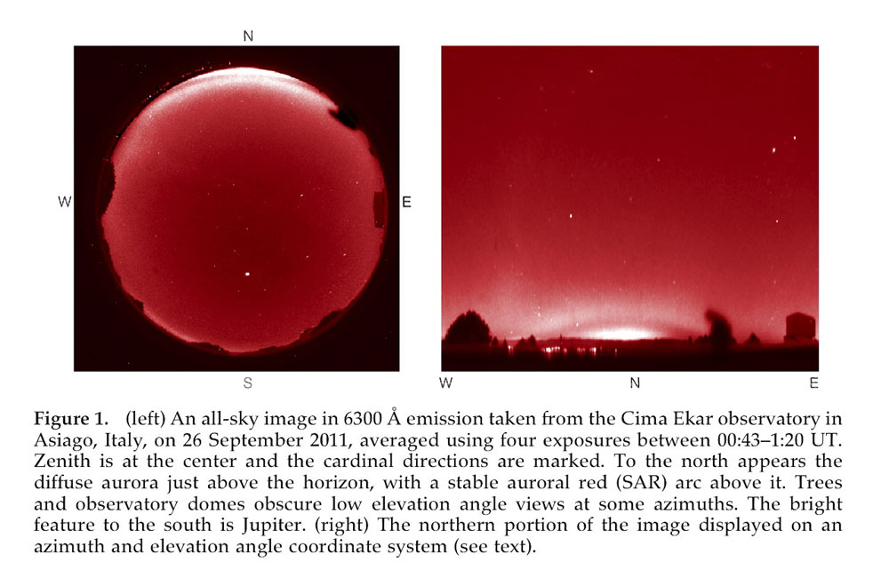 Faint 'Red Arcs' Spotted Over Europe