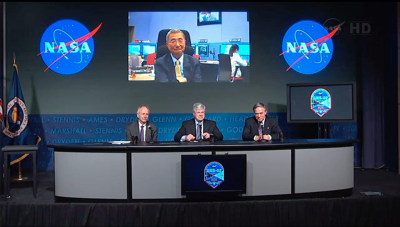 NASA Panel and Nobel Laureate Ting