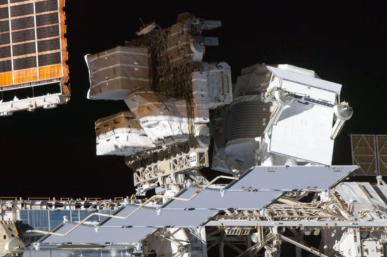 AMS STS-135 Flyaround View