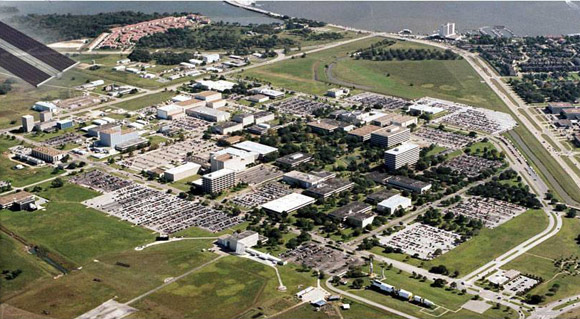 Johnson Space Center from the Air