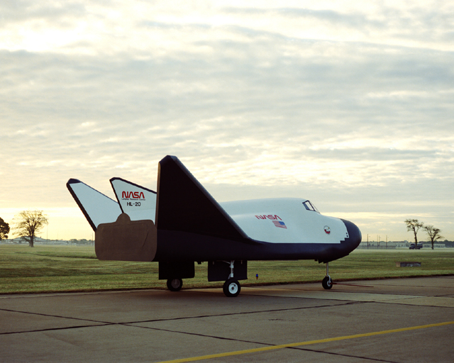 Space History Photo: NASA HL-20 Lifting Body
