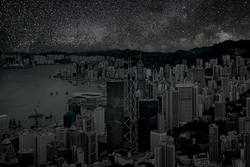 Hong Kong by Night, Darkened Cities