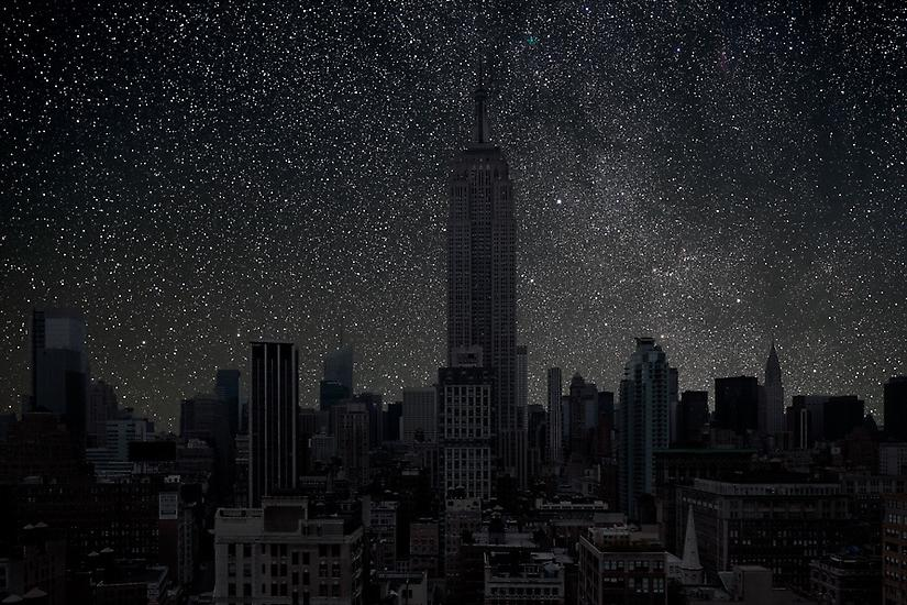 Impossible Night Skies: Artist Imagines Starscapes Over City Skylines