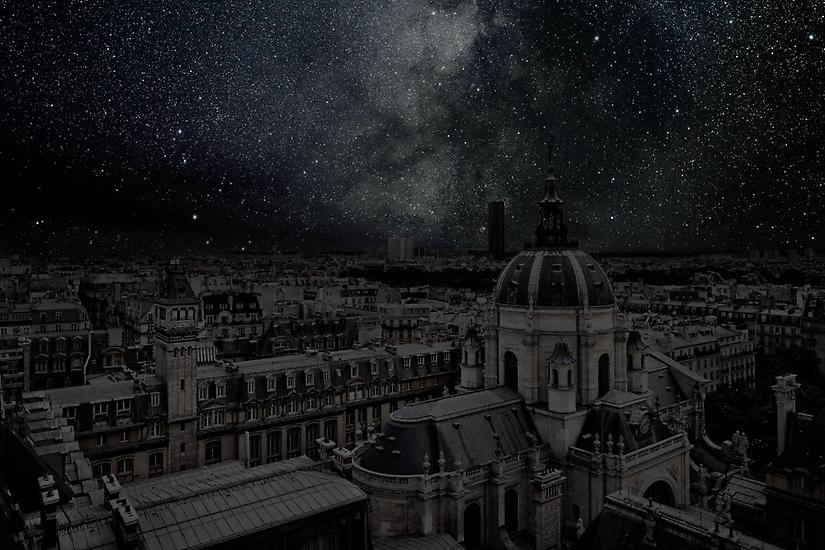Paris, Darkened Cities