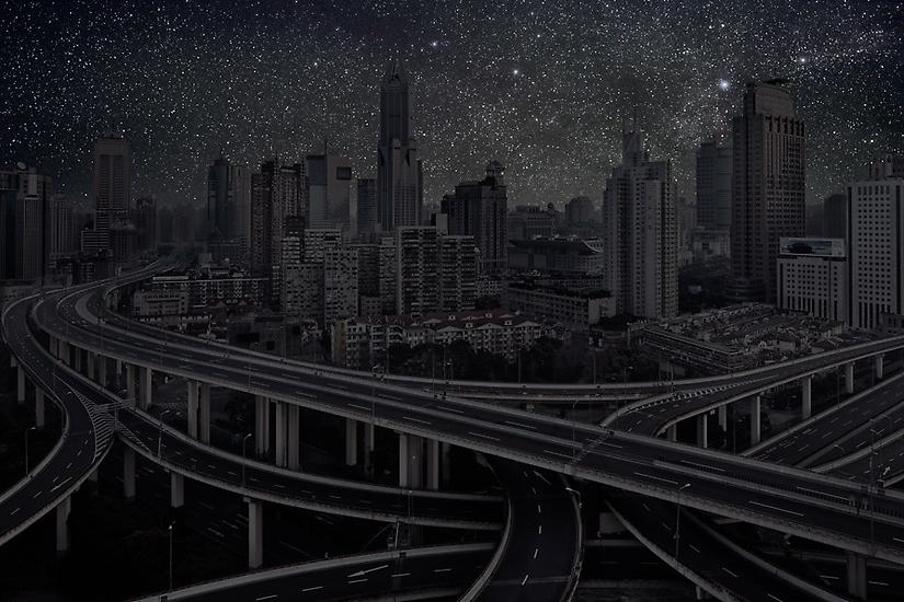 Shanghai Highways, Darkened Cities