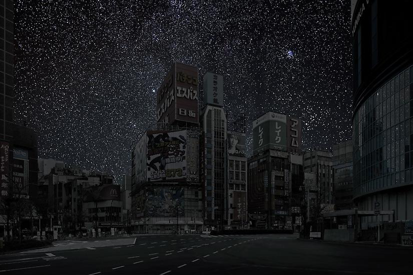 Tokyo Intersection, Darkened Cities