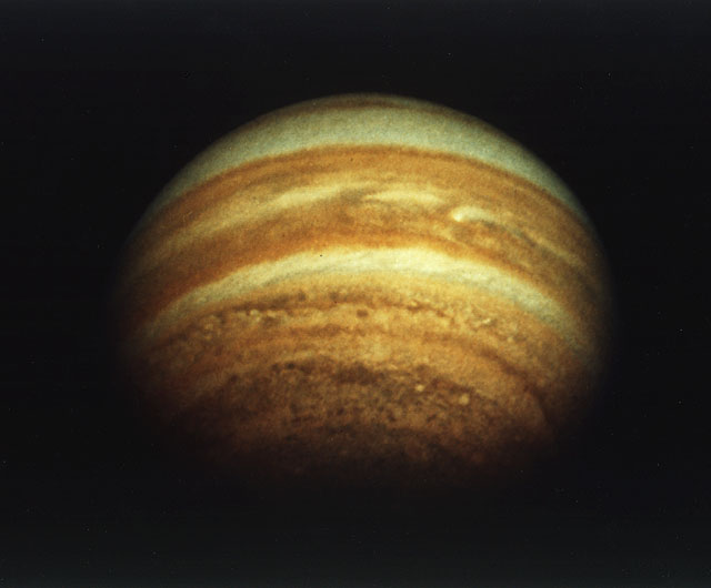 Pioneer 11 Photo of Jupiter