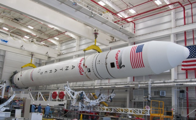 Antares Prepared for Roll Out