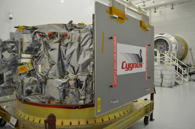 Cygnus Integration Begins at Wallops Flight Facility