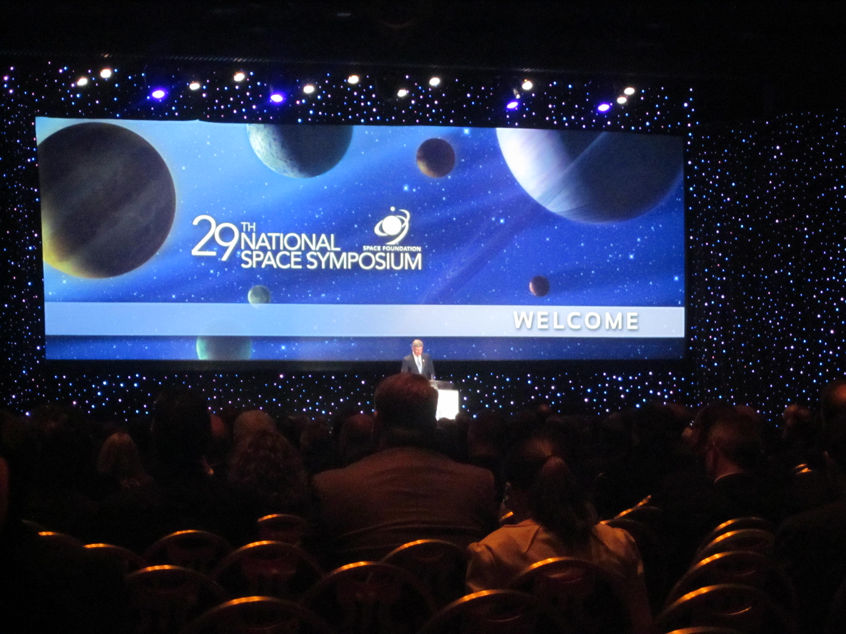 29th Annual National Space Symposium Stage