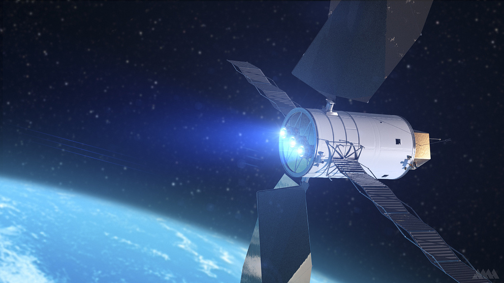 Solar Electric Propulsion for Asteroid-Capture Probe