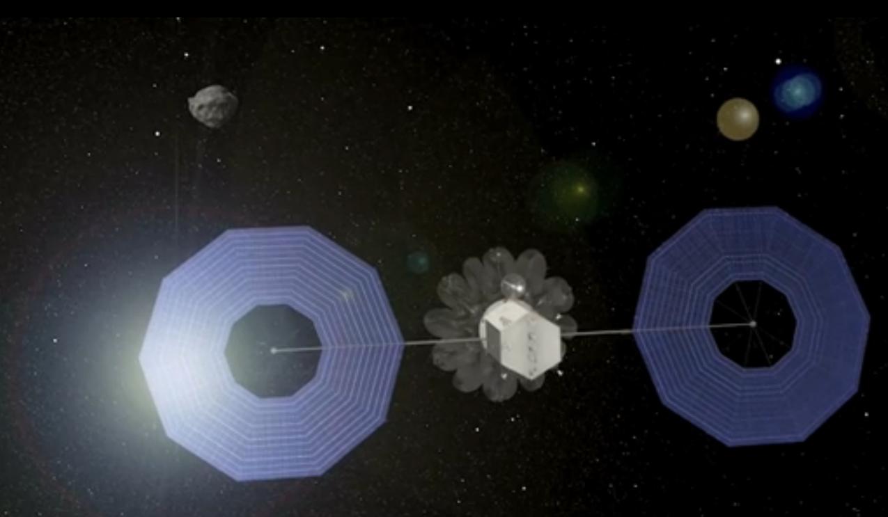 Asteroid Capture Mission Bag Deployment