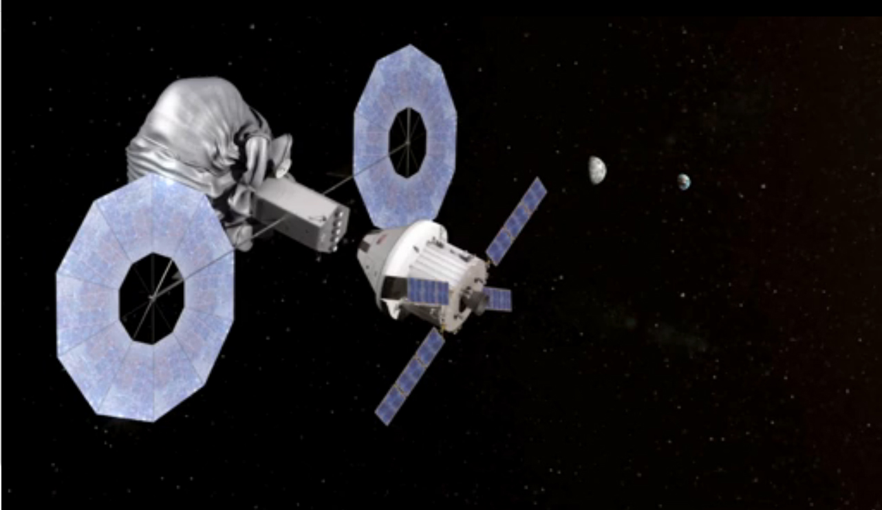 Exploring Shrink-Wrapped Asteroid During Asteroid Capture Mission