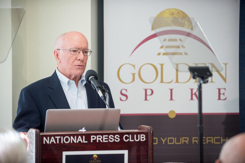 Golden Spike Founder Gerry Griffin