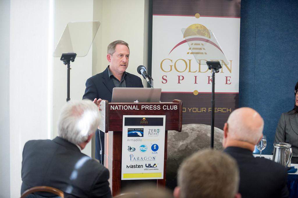 Golden Spike Founder Alan Stern